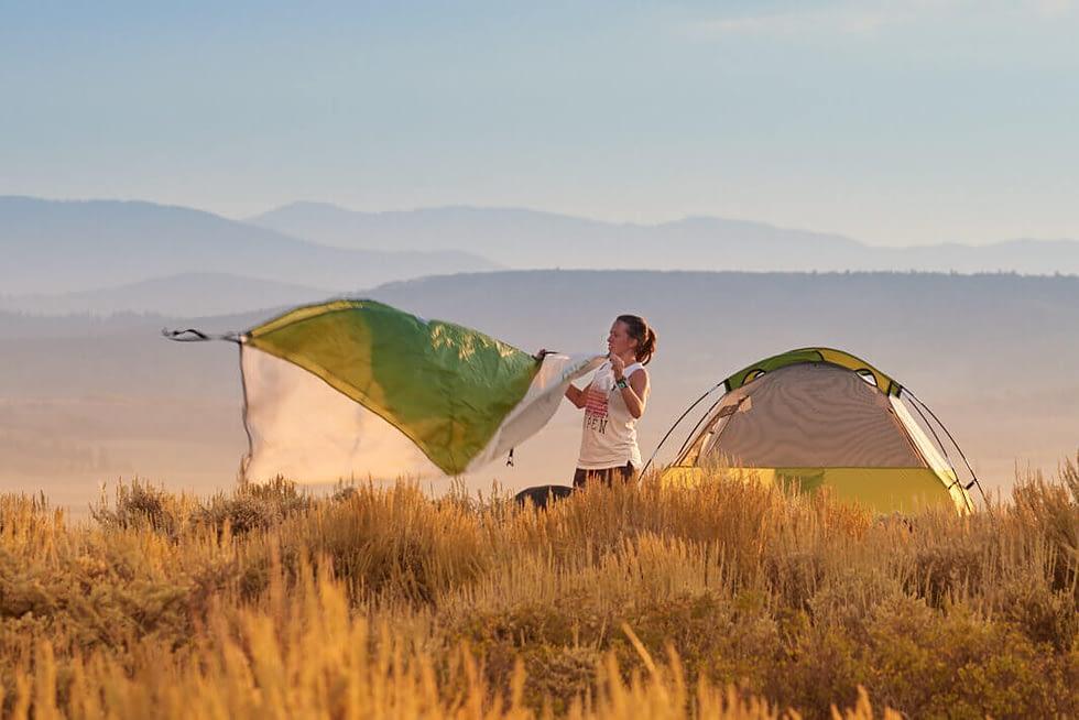Camper on Sapinero Mesa